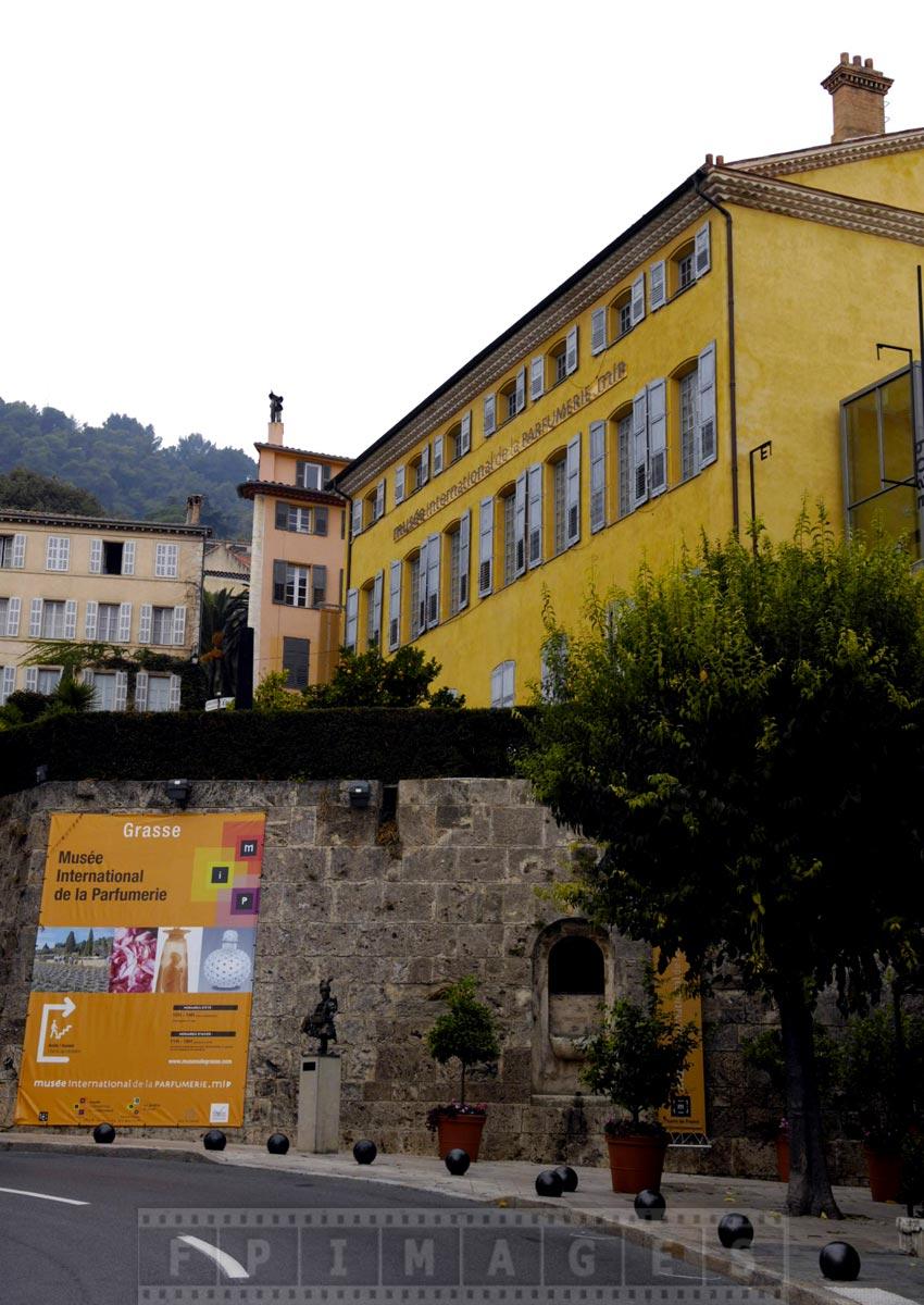 Fragonard perfume building in Grasse, France
