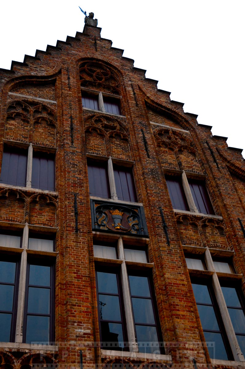 Beautiful Bruges architecture - UNESCO protected town