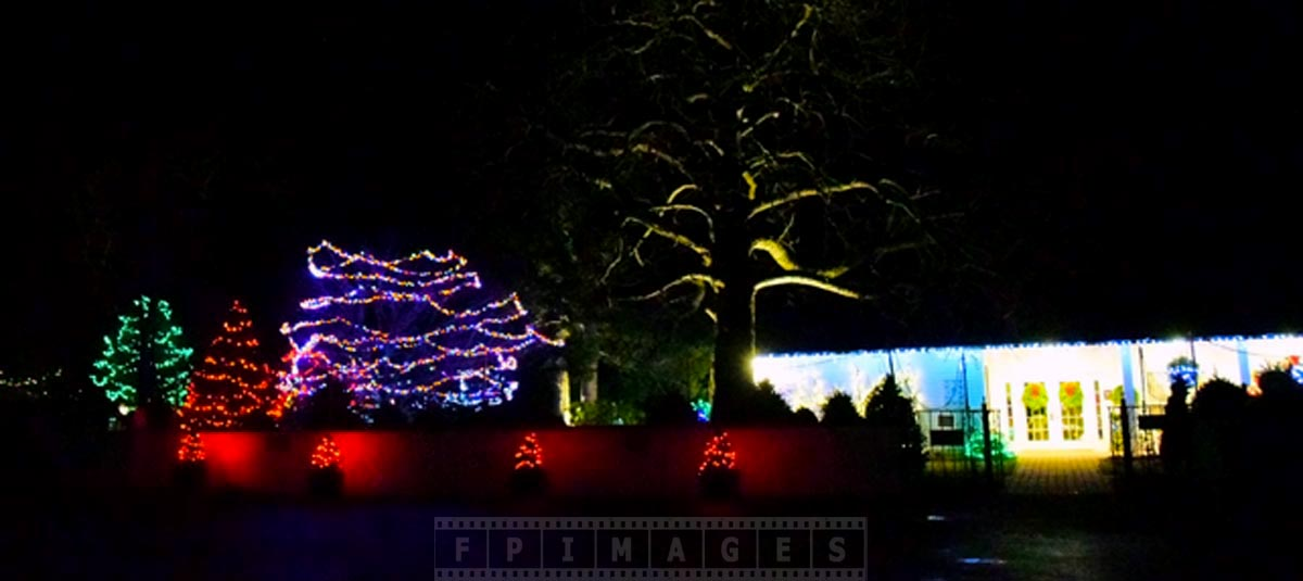 Kingsbrae Garden of lights - Christmas lights display
