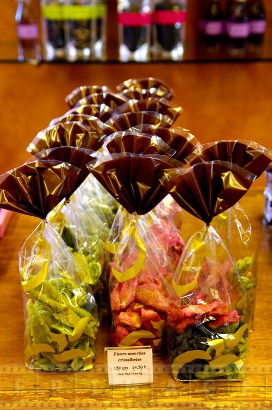 Crystallized flower petals - unique Valentines day gift idea
