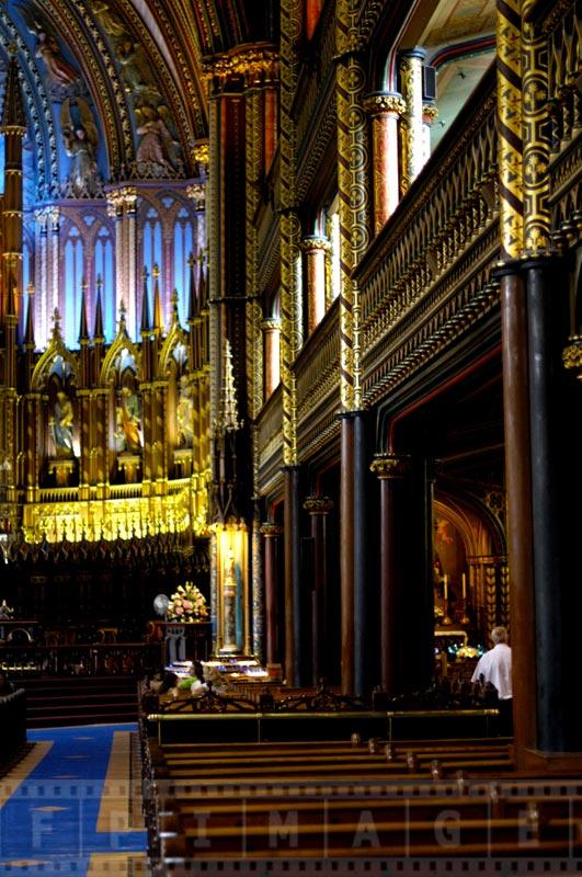 Interior architecture of the Basilica