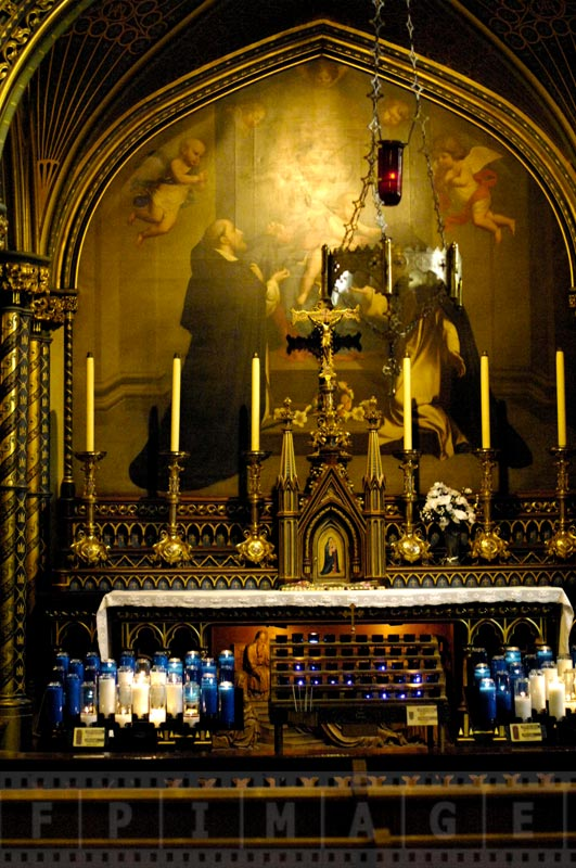 Private chapel inside the Basilica