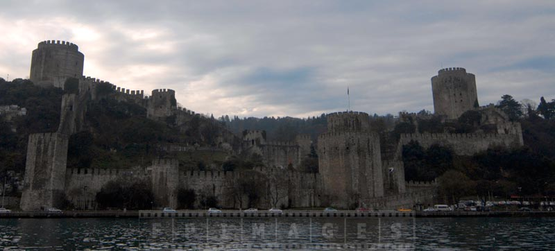 Rumeli castle on the European side