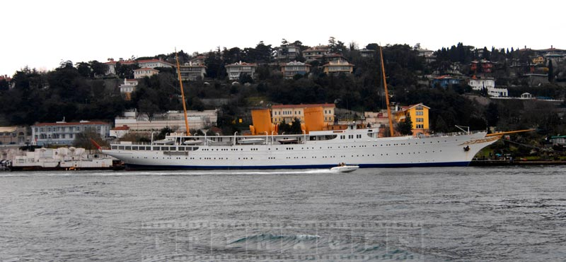 Official Presidential ship motor yacht Savorona, built in 1931