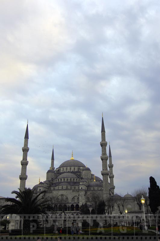 Blue Mosque - famous landmark in Istanbul