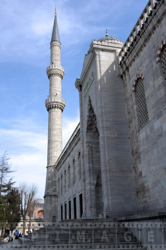 Dominating architecture of the mosque