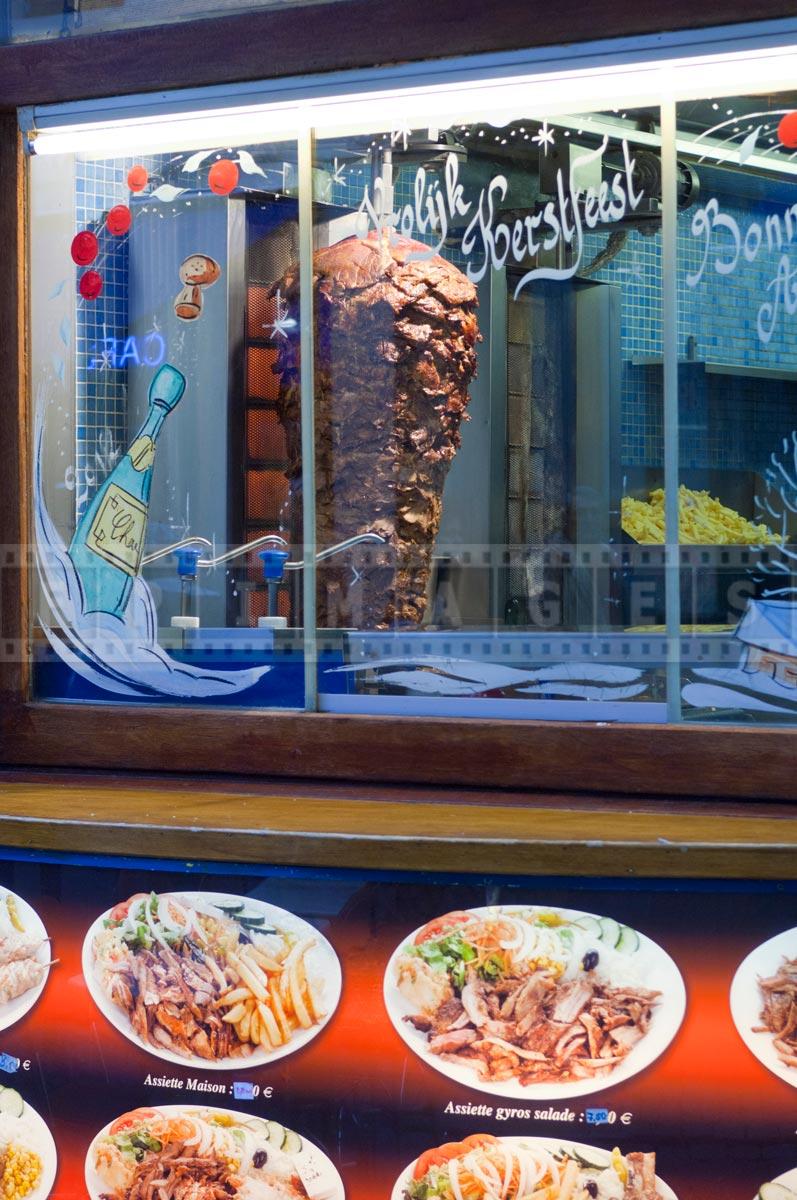 greek street food in Belgium