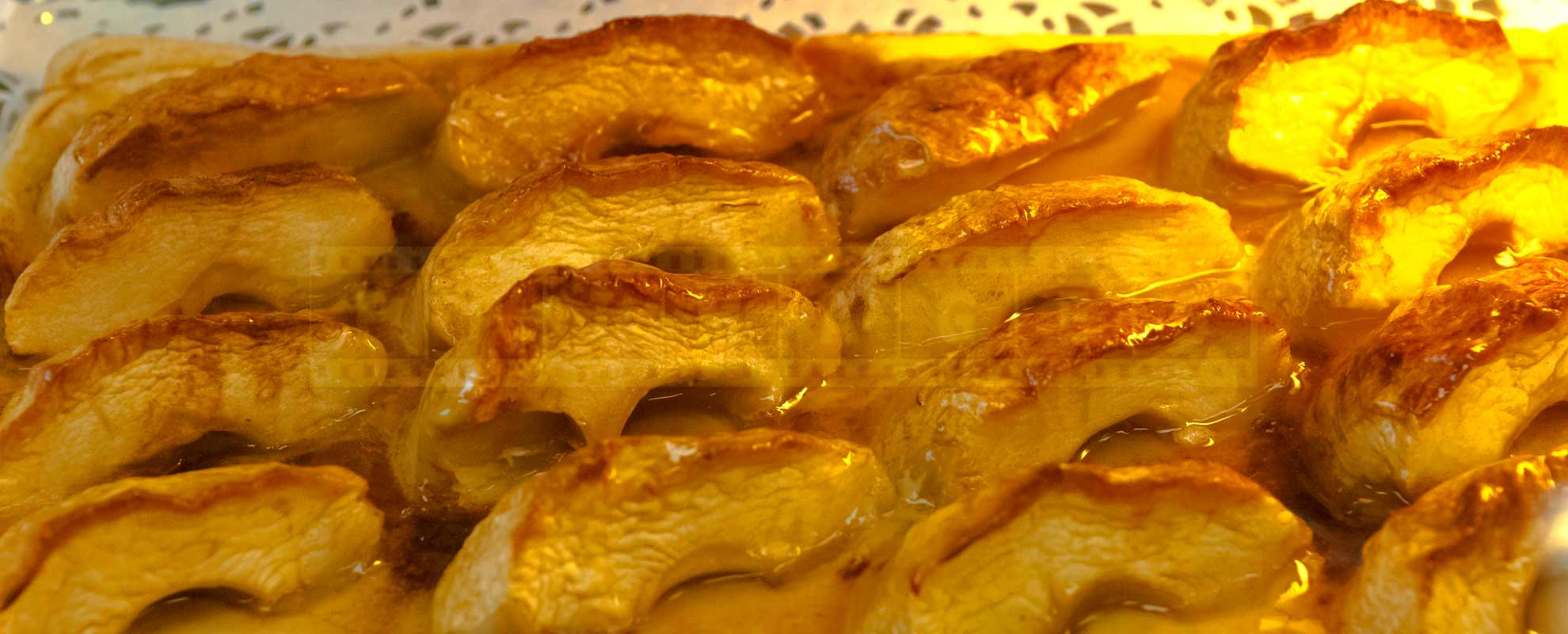 Glazed apple tart - tasty Provence dessert